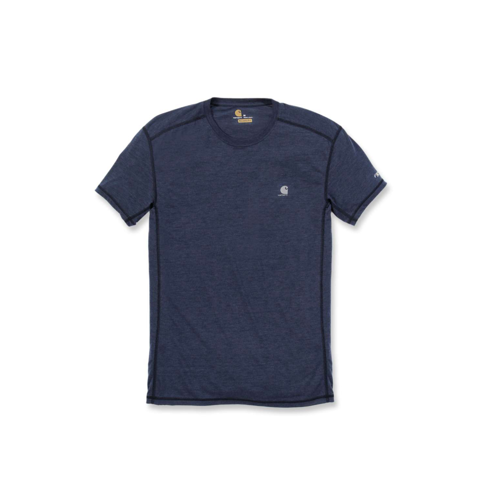 Carhartt Force Extremes T-shirt S/S Navy Heather Large