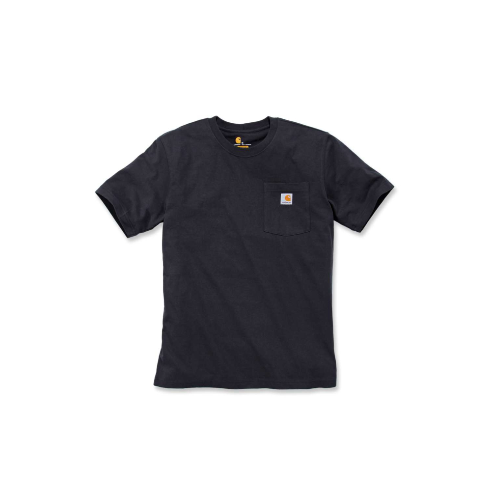 Carhartt Workw Pocket T-shirt S/S Svart Medium