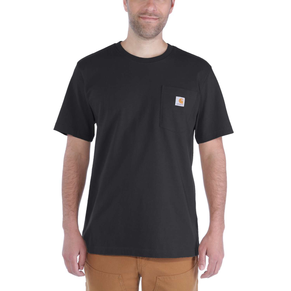 Carhartt Workw Pocket T-shirt S/S Svart Large