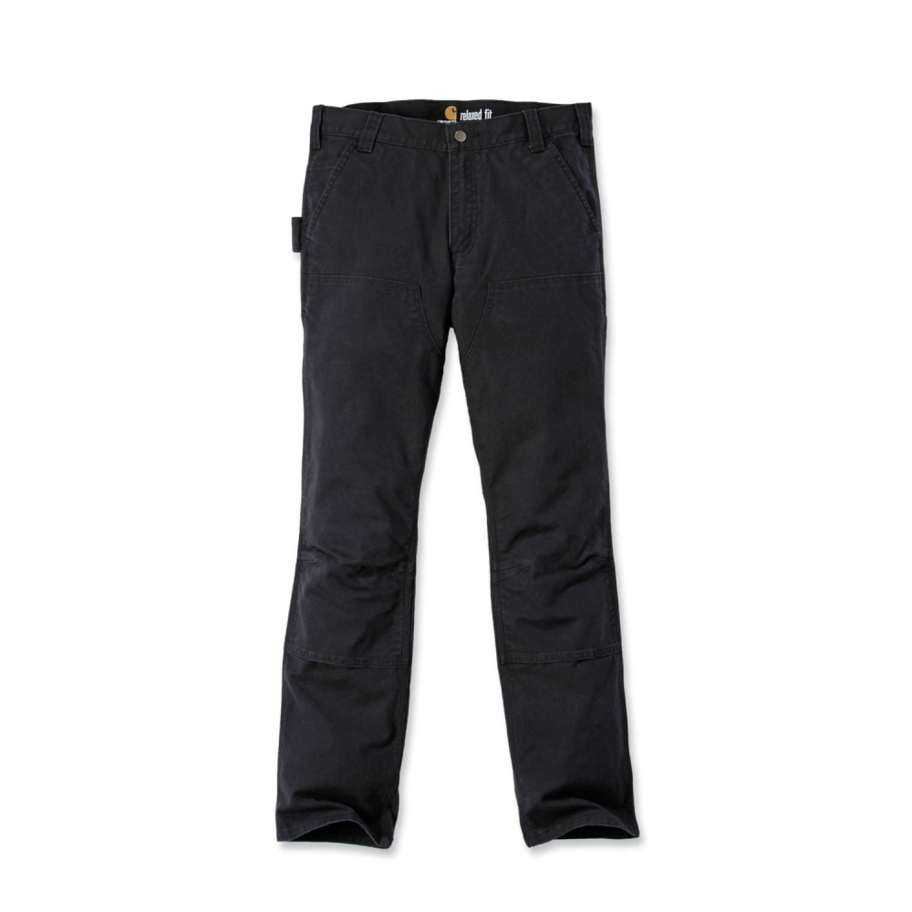 Carhartt Stretch Duck Double Front Svart W38/L32
