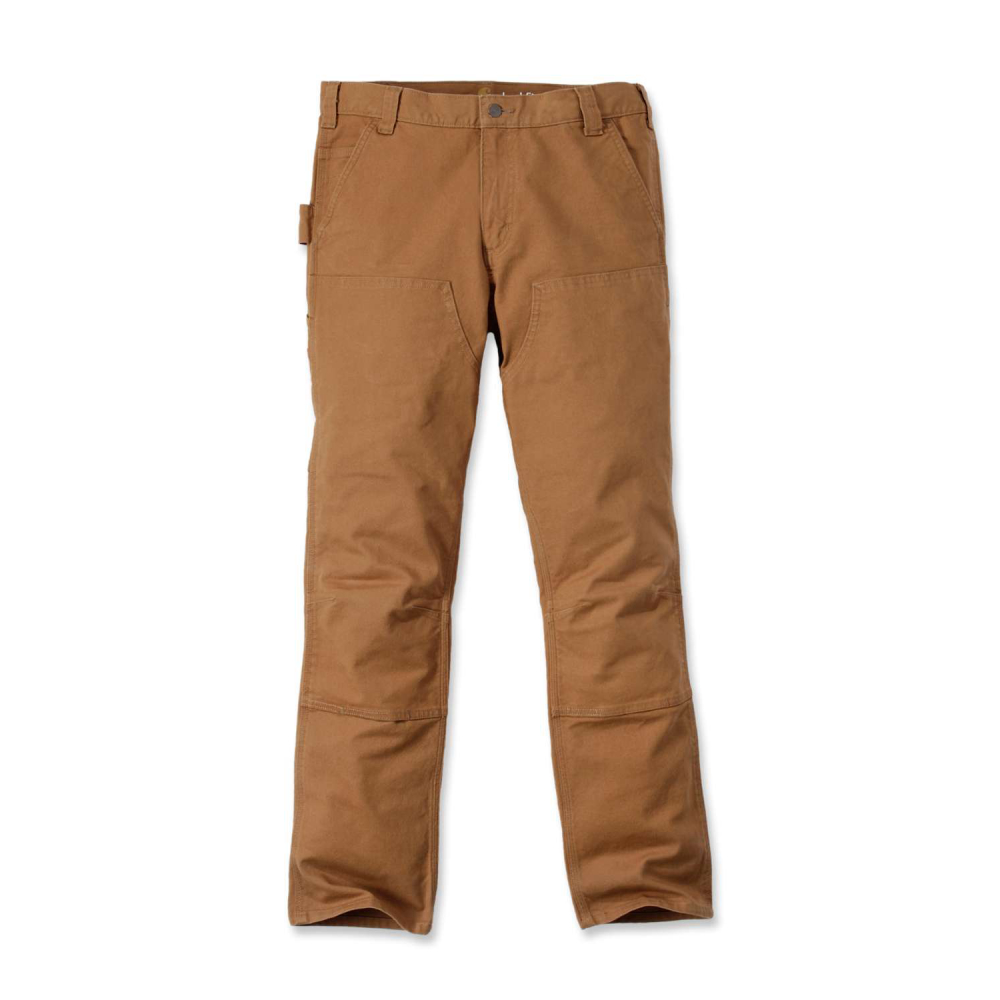 Carhartt Stretch Duck Double Front Brun W33/L32