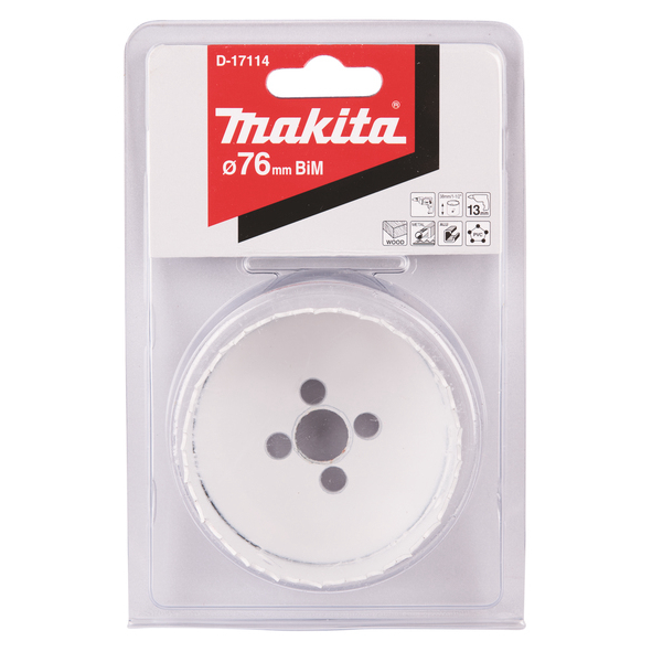 Makita Hålsåg 76mm Bimetall