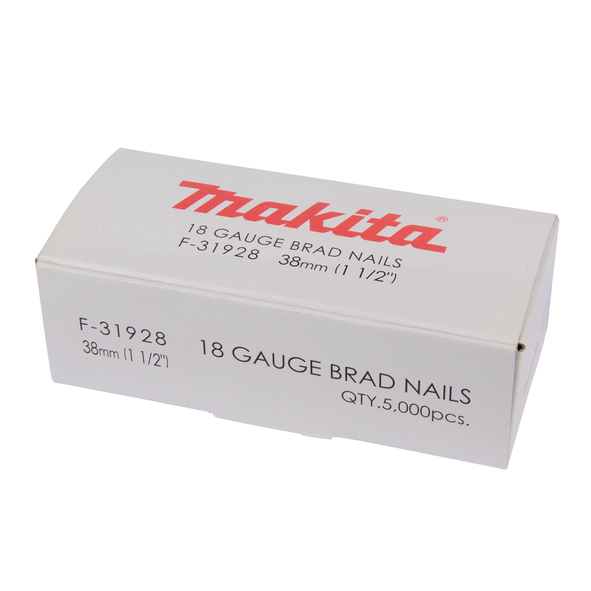 Makita Dyckert 1,2x38mm 18 Ga 5000-pack