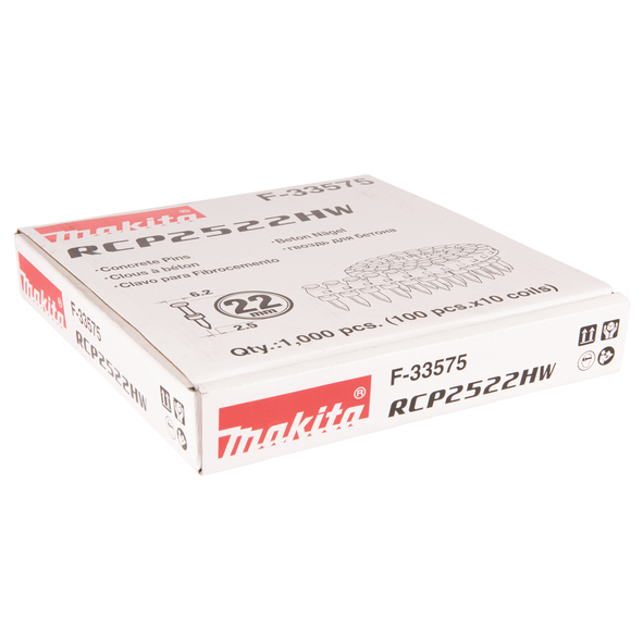 Makita Betongspik 2,5x22mm 1000-pack