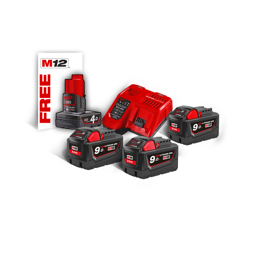 Milwaukee KIT M18 NRG-903