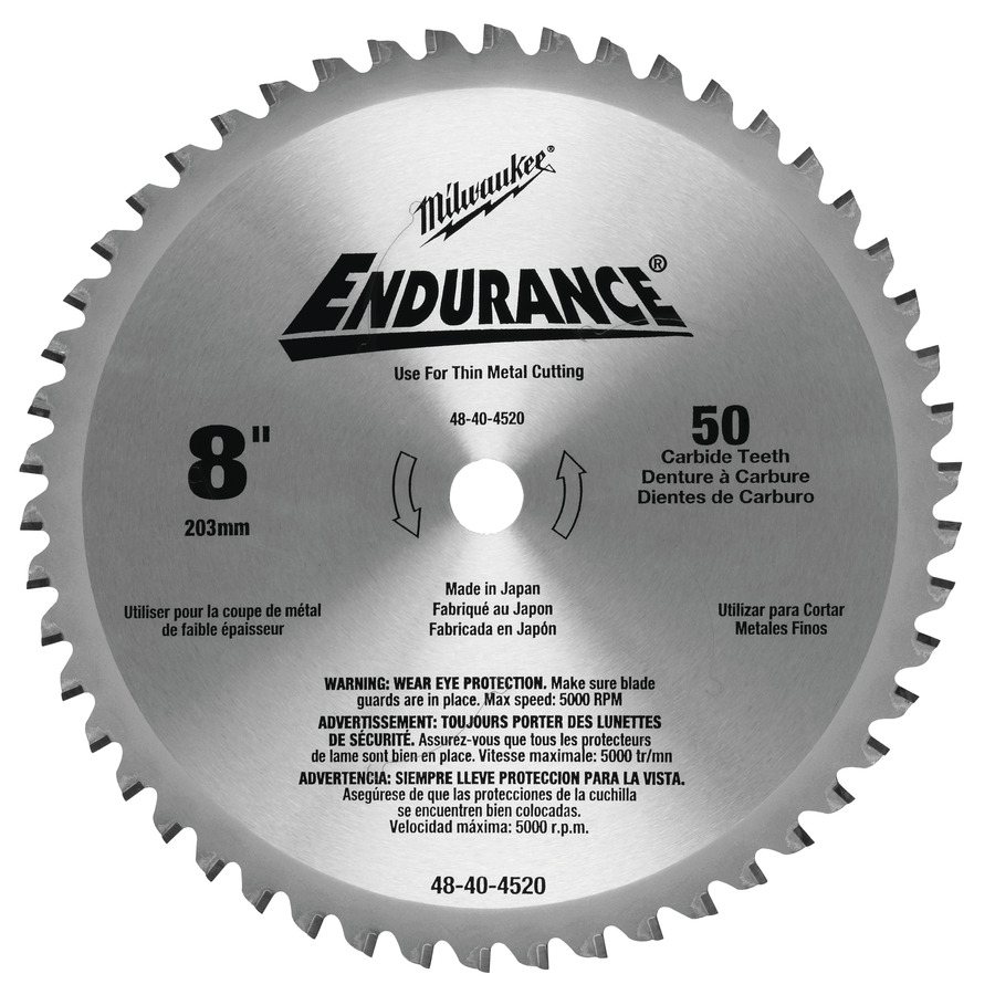 Milwaukee Endurance Metall 203x15,87mm 50T