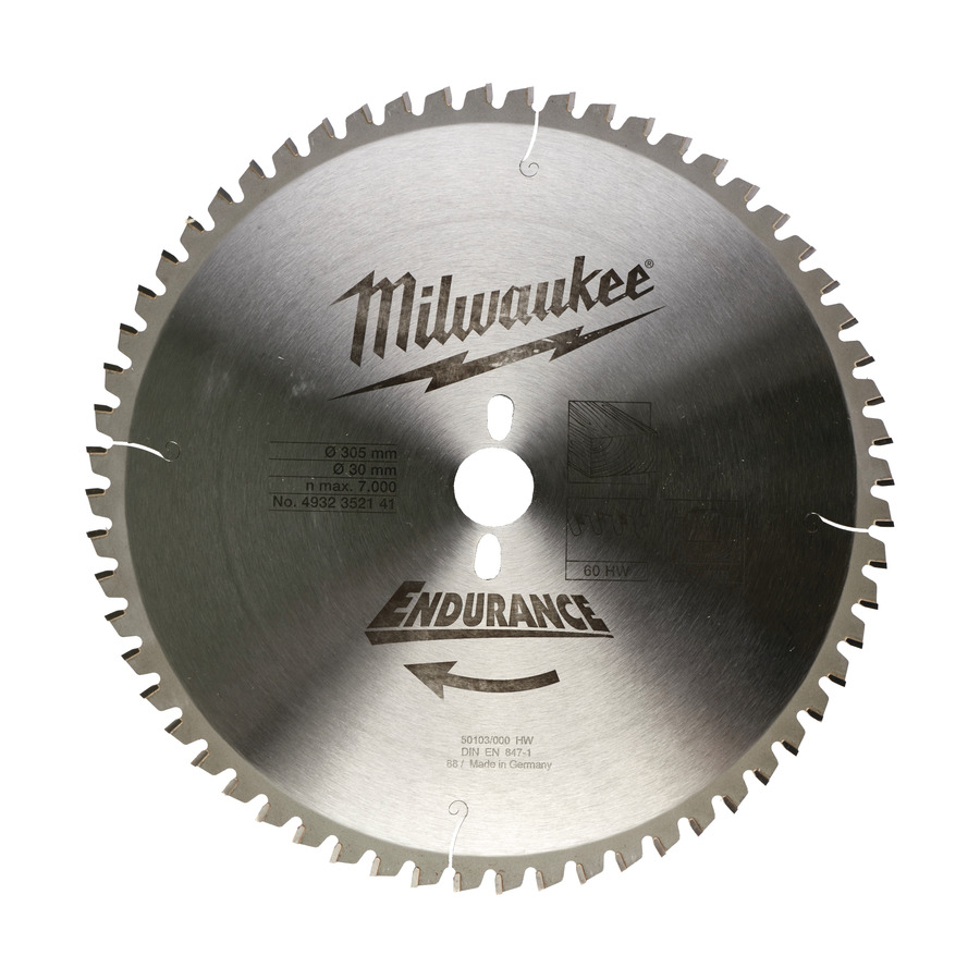 Milwaukee Endurance Trä 305x30mm 60T