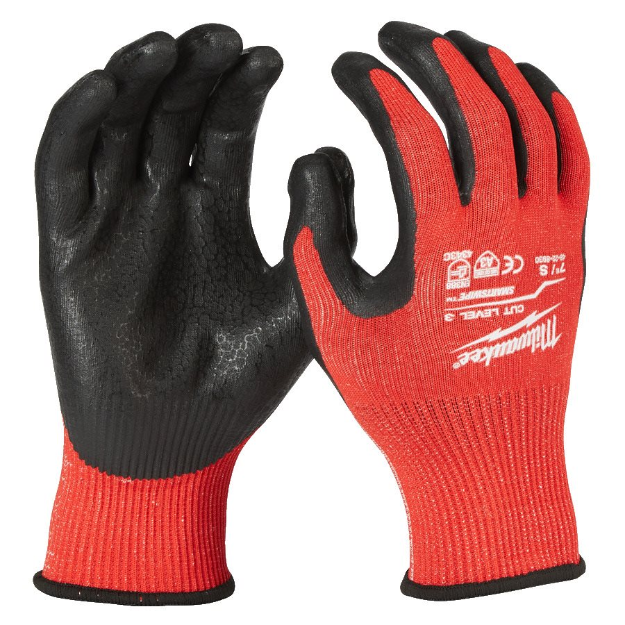 Milwaukee Gloves Cut Level 3 Strl 8