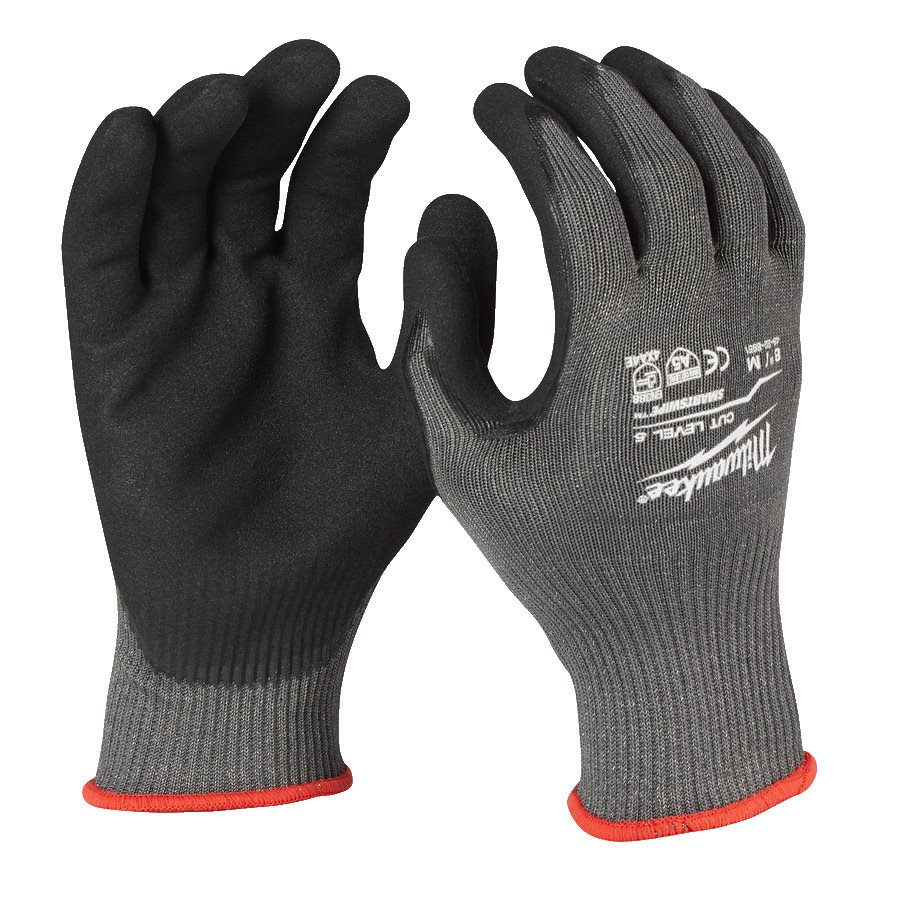 Milwaukee Gloves Cut Level 5 Strl 8
