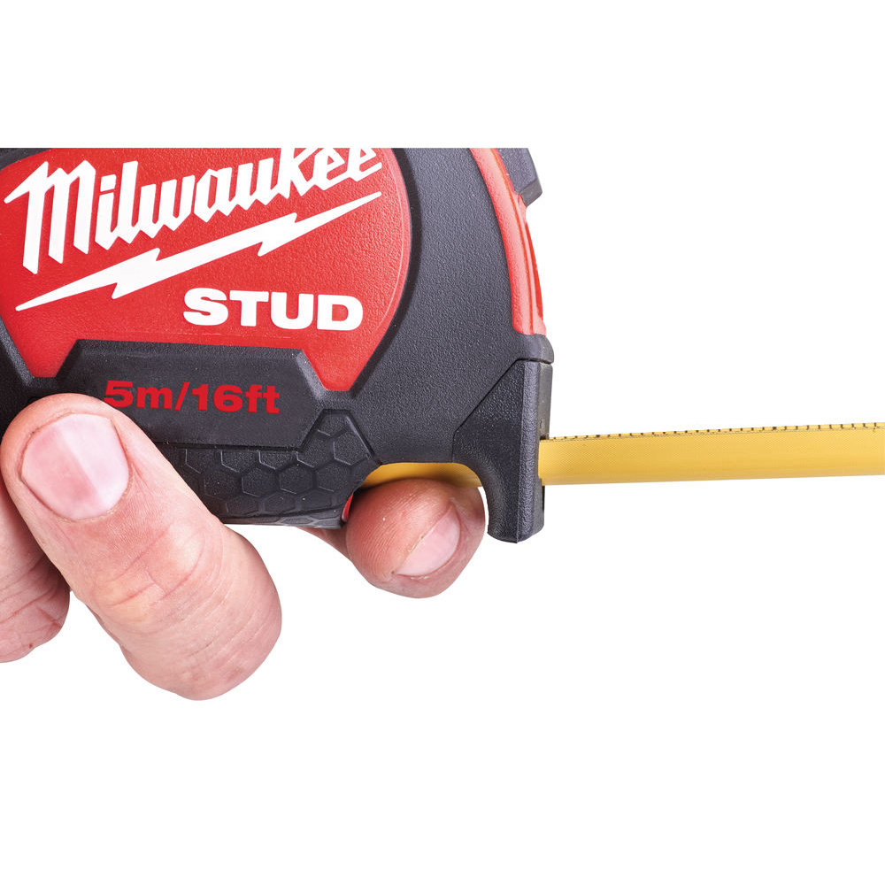 Milwaukee STUD Måttband 5M-16FT/27mm