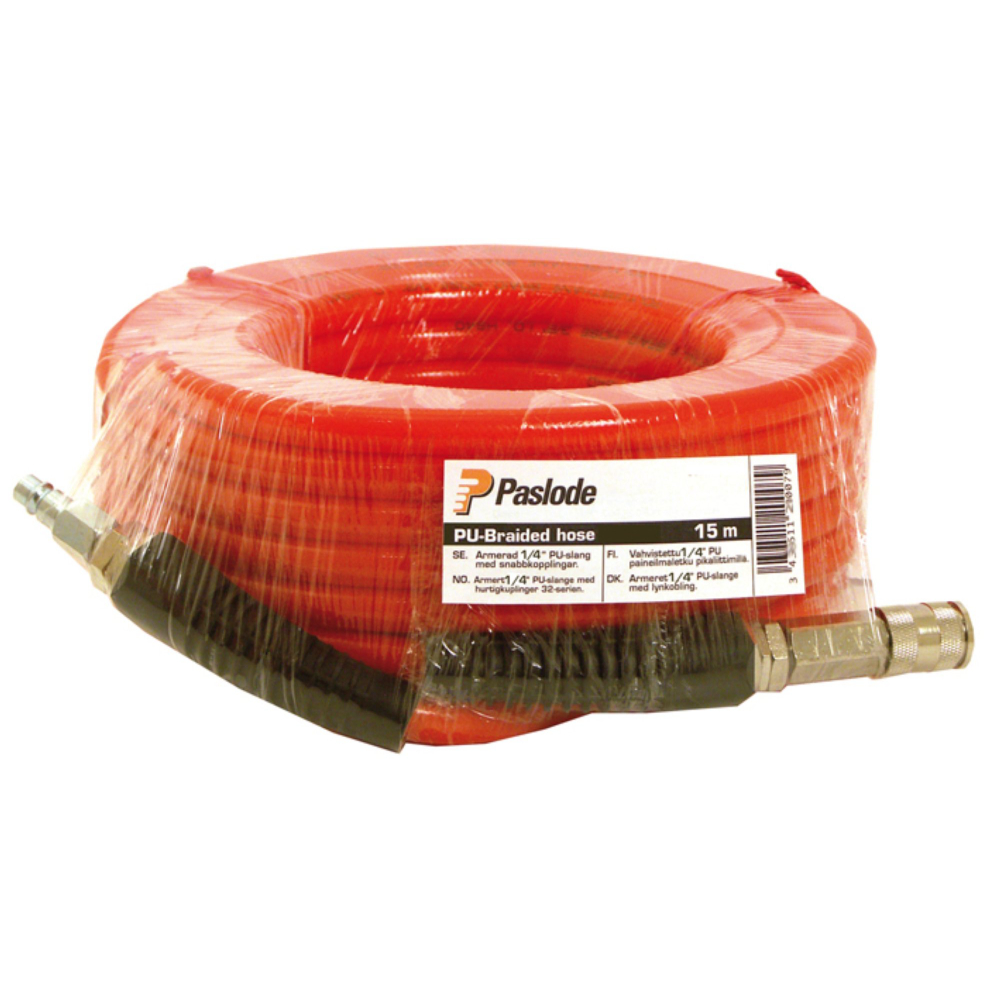 "Paslode Slangsats orange 3/8"" 15m"