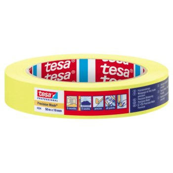 TESA Precision Indoor Maskeringstejp 19mm 50m
