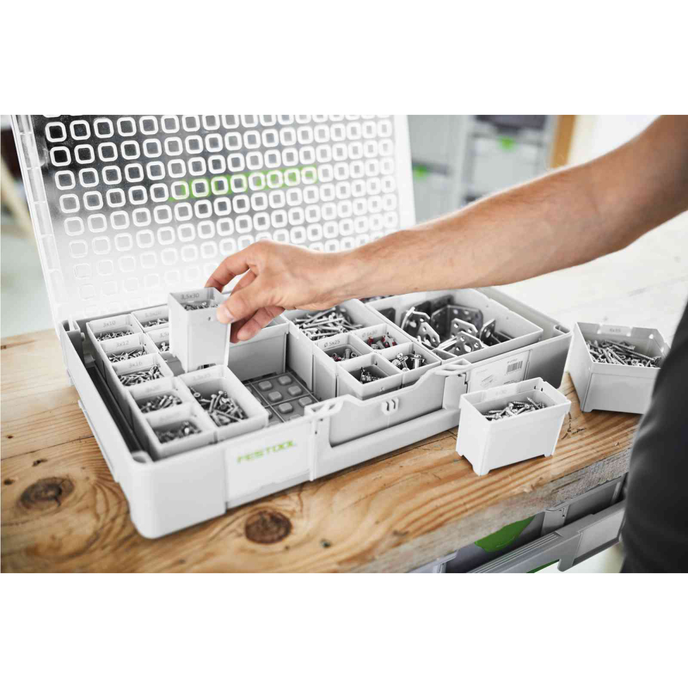 Festool Insatsboxar Box 100x100x68 6-pack