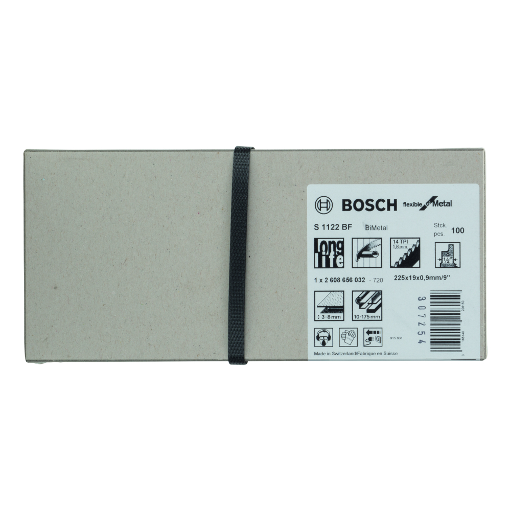 Bosch Flexible for Metal S1122BF Tigersågblad 225mm 100-pack
