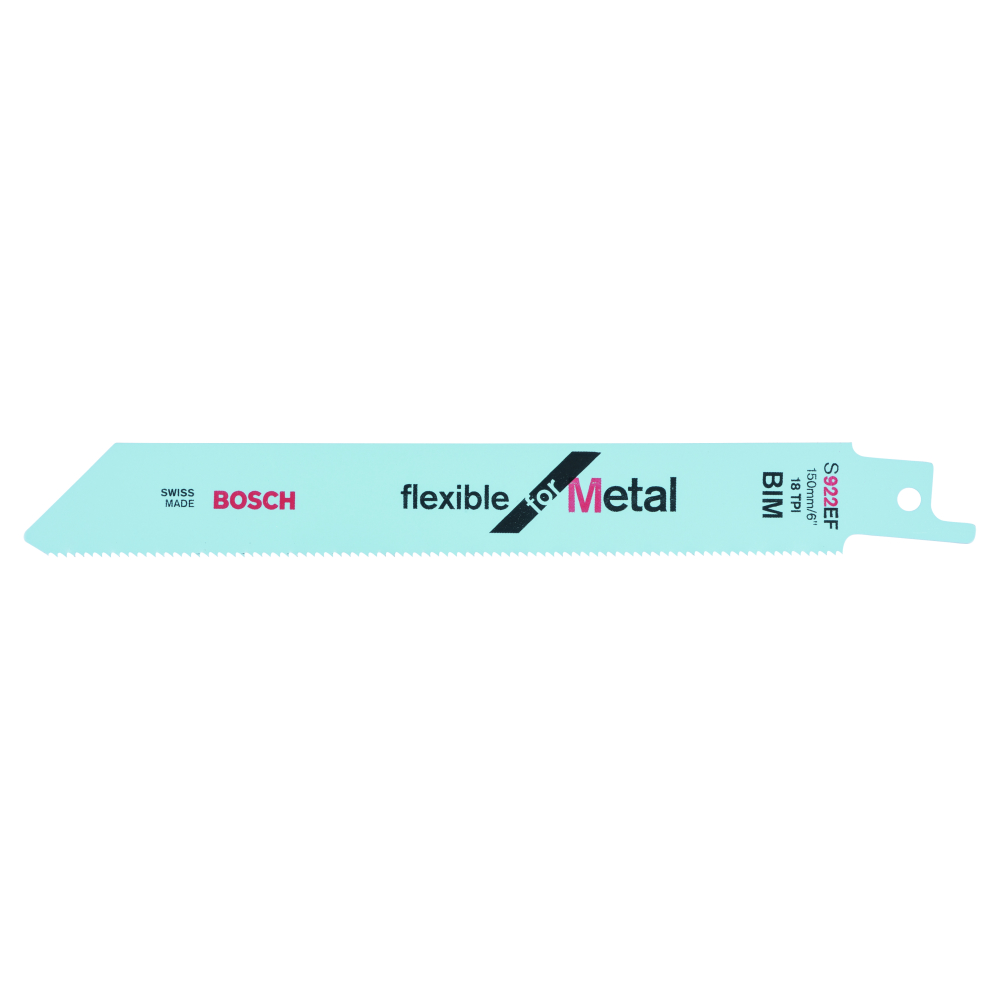 Bosch Flexible for Metal S922EF Tigersågblad 150mm 2-pack