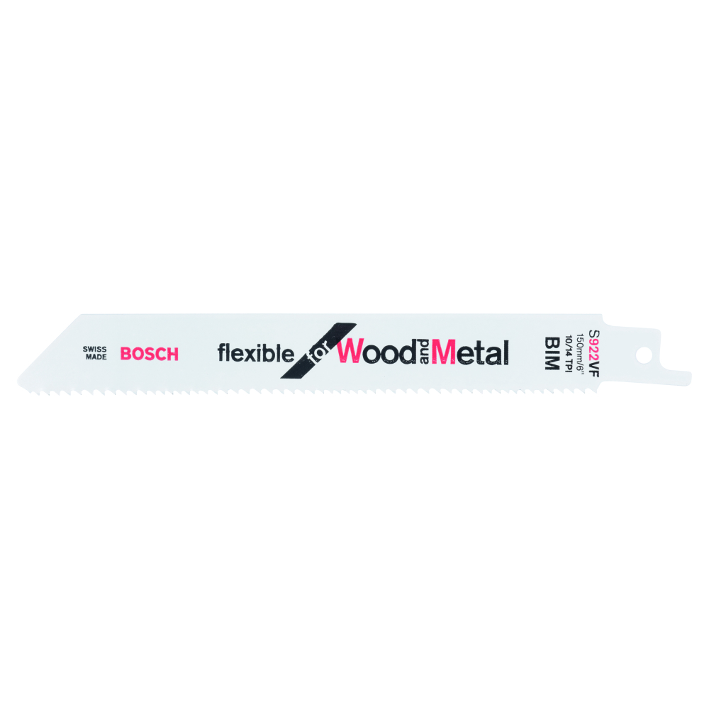 Bosch Flexible for Wood and Metal S922VF Tigersågblad 150mm 2-pack