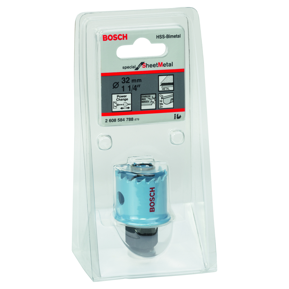 Bosch Special for Sheet Metal Hålsåg HSS BI-Metall Power Change 32mm