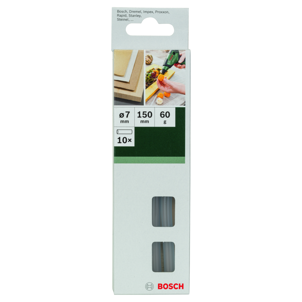 Bosch Limpatroner TRANSPARENTA 7mm 10-pack