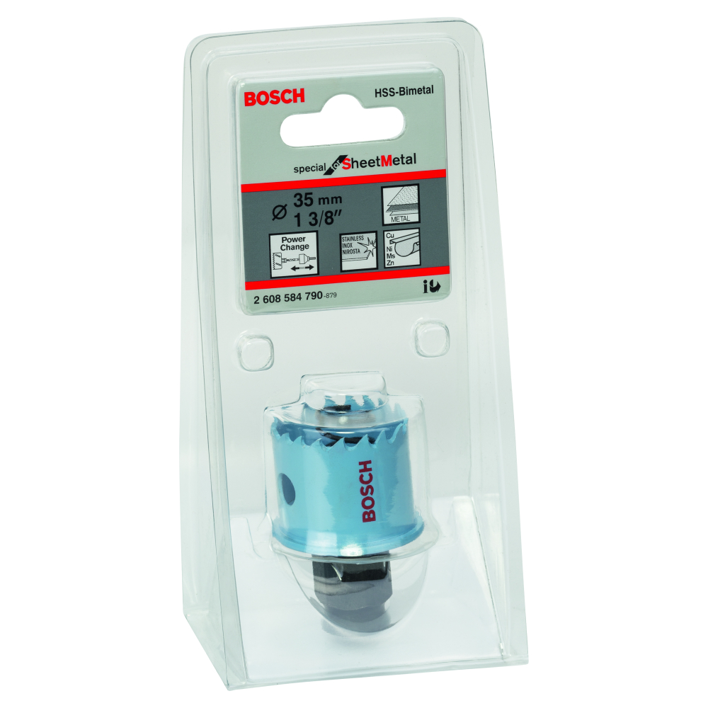 Bosch Special for Sheet Metal Hålsåg HSS BI-Metall Power Change 35mm