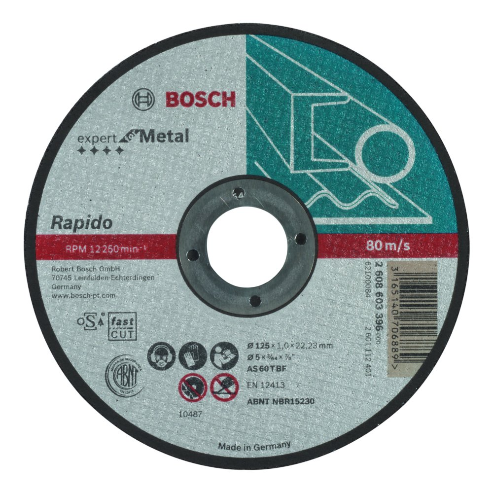 Bosch Expert for Metal Kapskiva 125x1,0x22,23mm