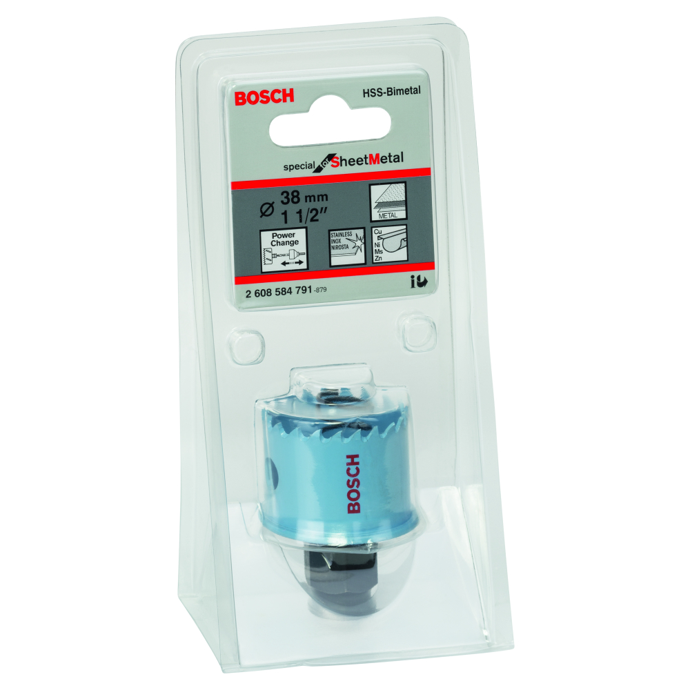 Bosch Special for Sheet Metal Hålsåg HSS BI-Metall Power Change 38mm