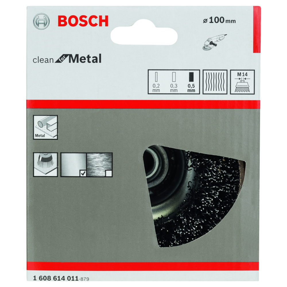 Bosch Clean for Metal Toppborste M14 100mm