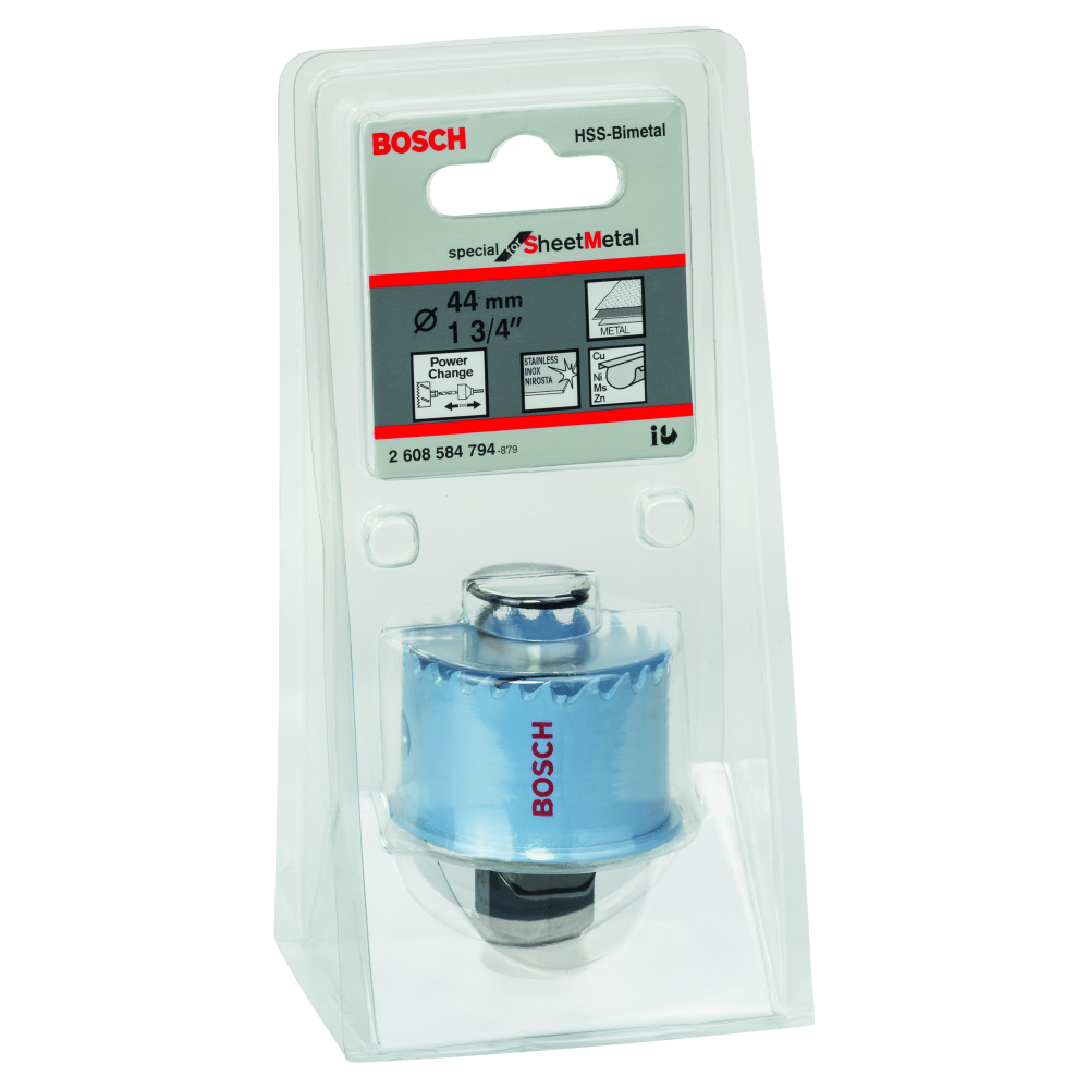 Bosch Special for Sheet Metal Hålsåg HSS BI-Metall Power Change 44mm