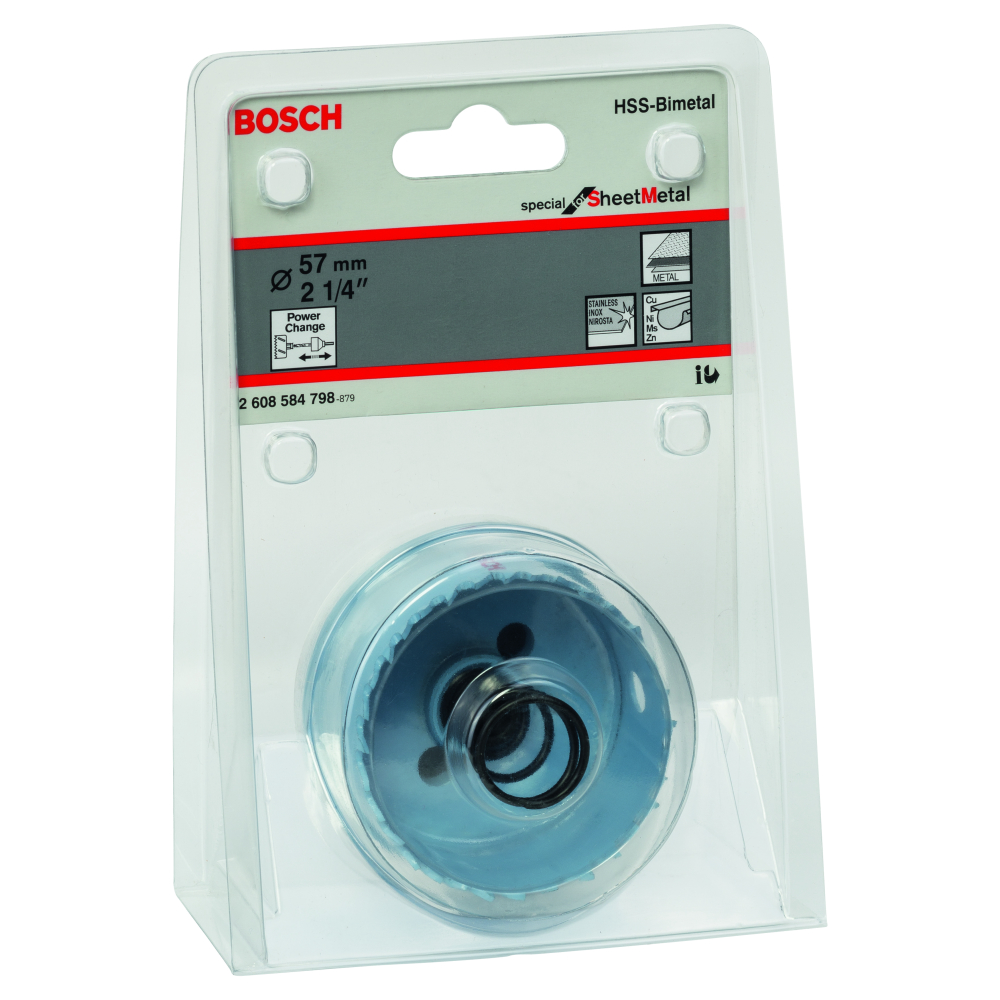 Bosch Special for Sheet Metal Hålsåg HSS BI-Metall Power Change 57mm