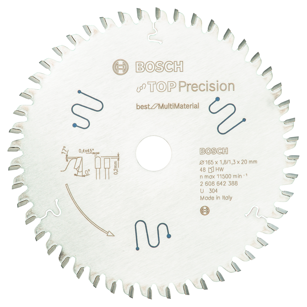 Bosch Top Precision Best for Multi Material 165x20x1,8mm 48T