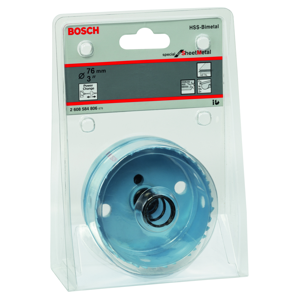 Bosch Special for Sheet Metal Hålsåg BI-Metall Power Change 76mm