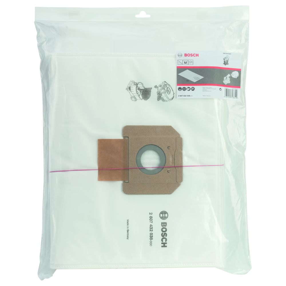 Bosch Dammpåse FLEECE GAS55 5-pack