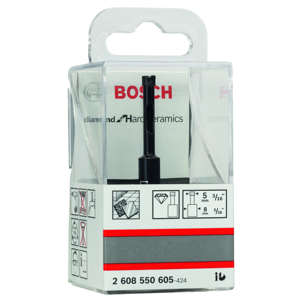Bosch Diamantborr Ø5x65/30mm