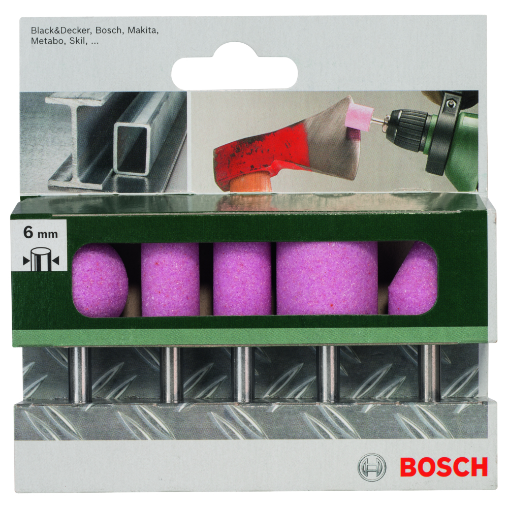 Bosch Slipstift 6mm K60 I SET 5-pack