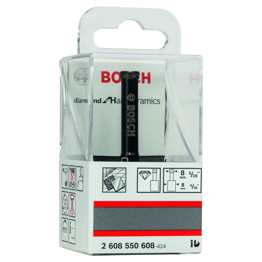 Bosch Diamantborr Ø8x65/30mm