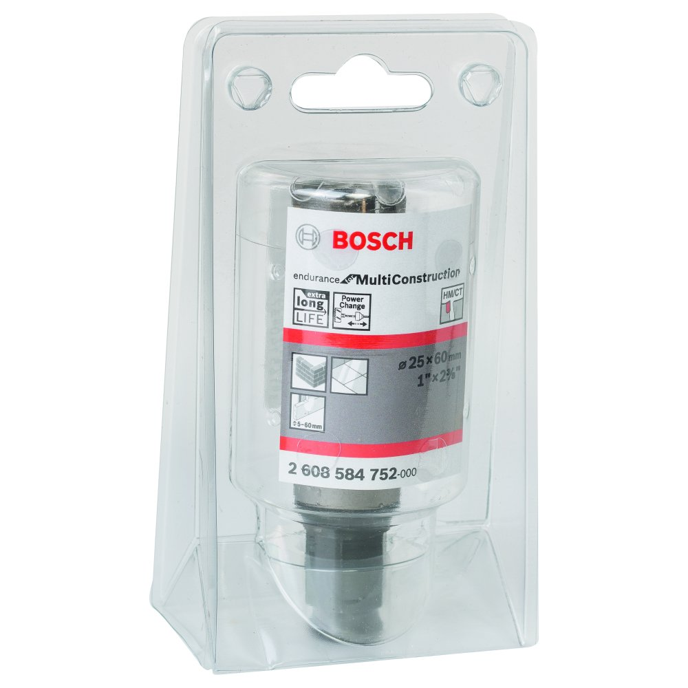 Bosch Endurance for Multi Construction Hålsåg HM Power Change 25mm