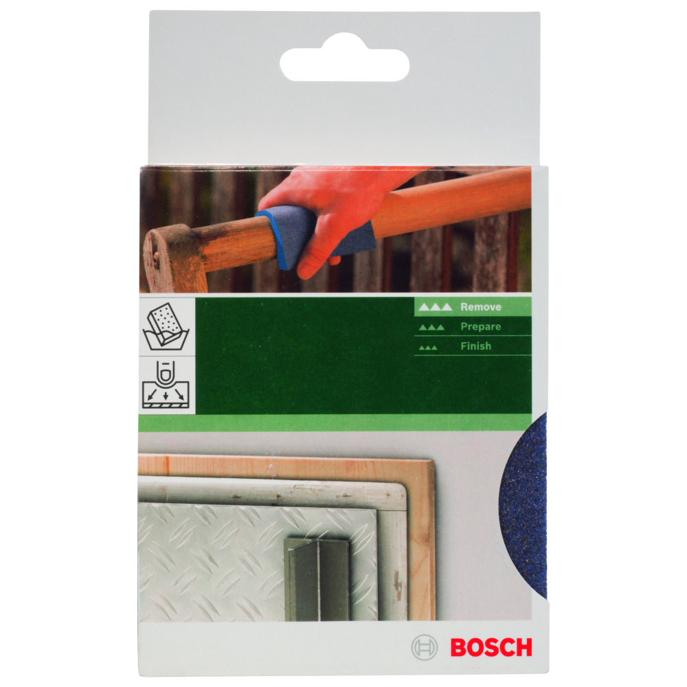 Bosch Slipsvamp 120x98X13mm BFC Medium GL