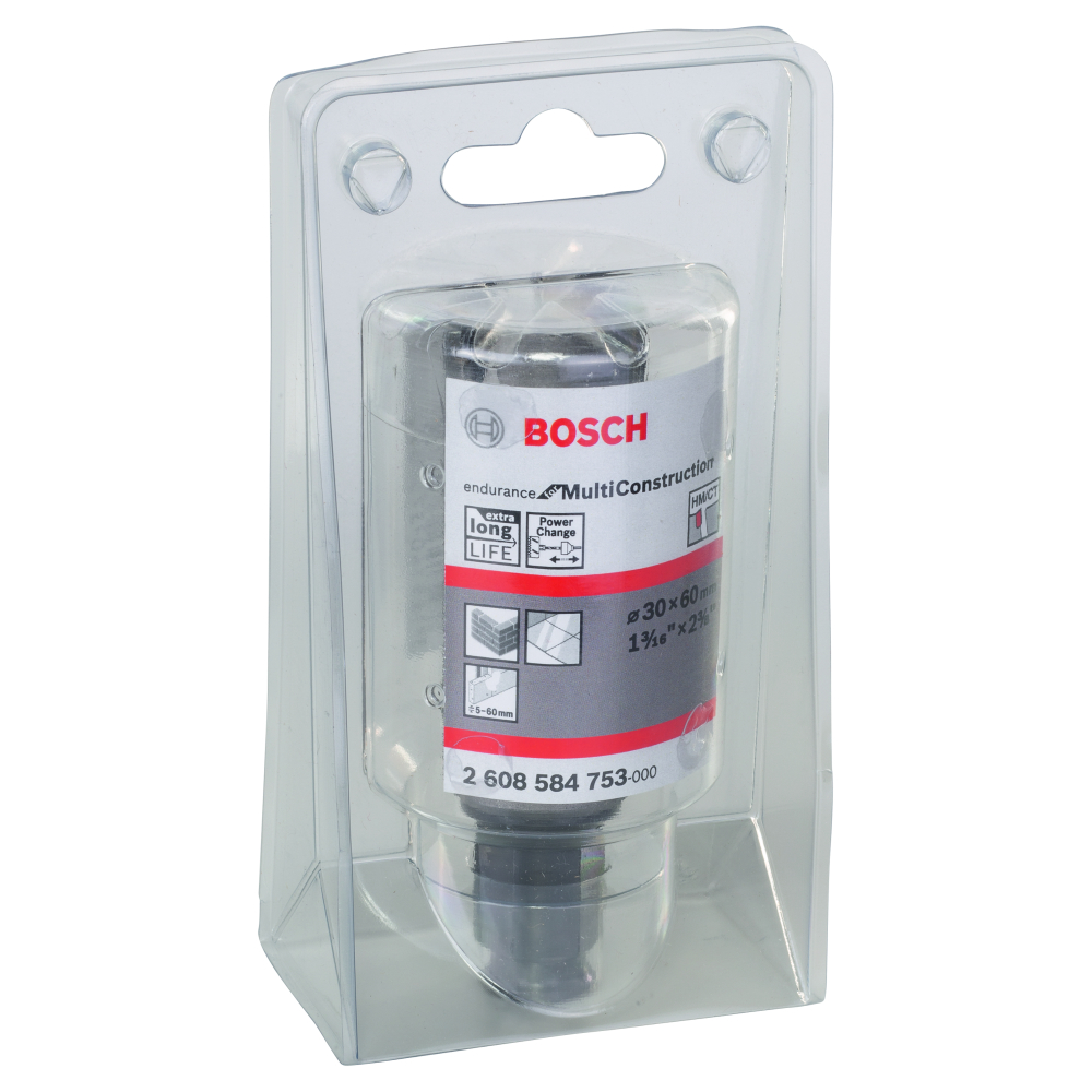 Bosch Endurance for Multi Construction Hålsåg Power Change 30mm