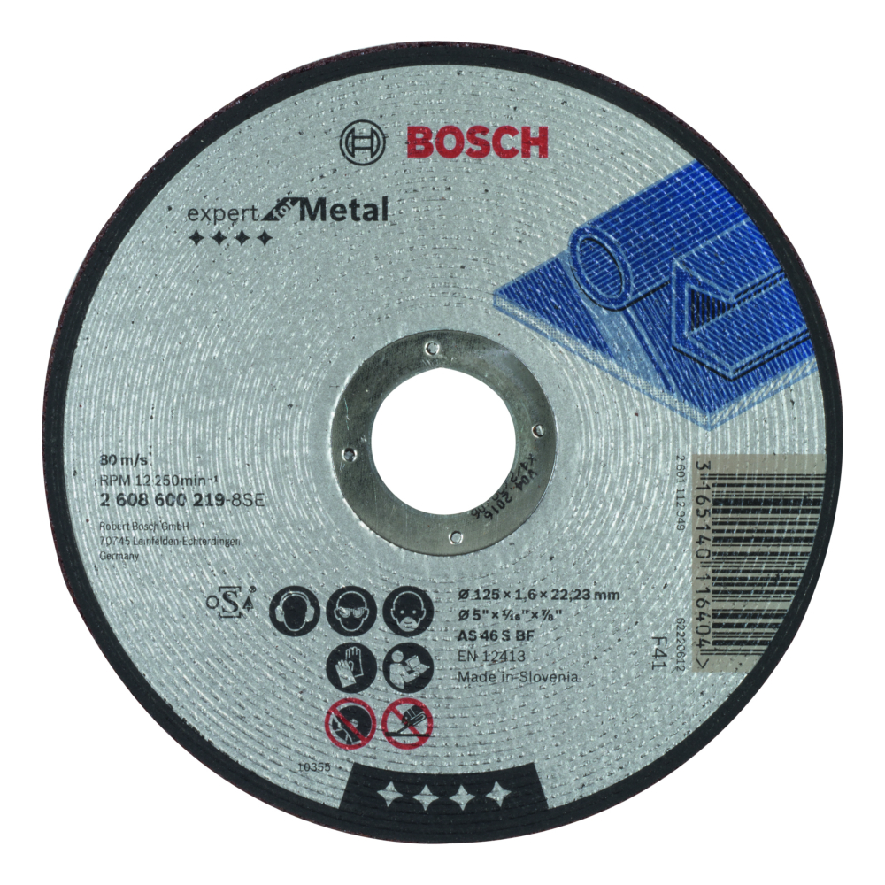 Bosch Expert for Metal Kapskiva Rak 125x22,23x1,6mm