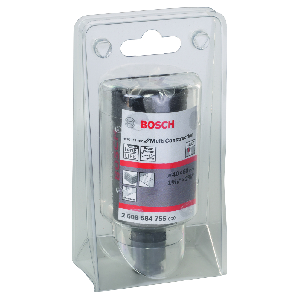 Bosch Endurance for Multi Construction Hålsåg Power Change 40mm