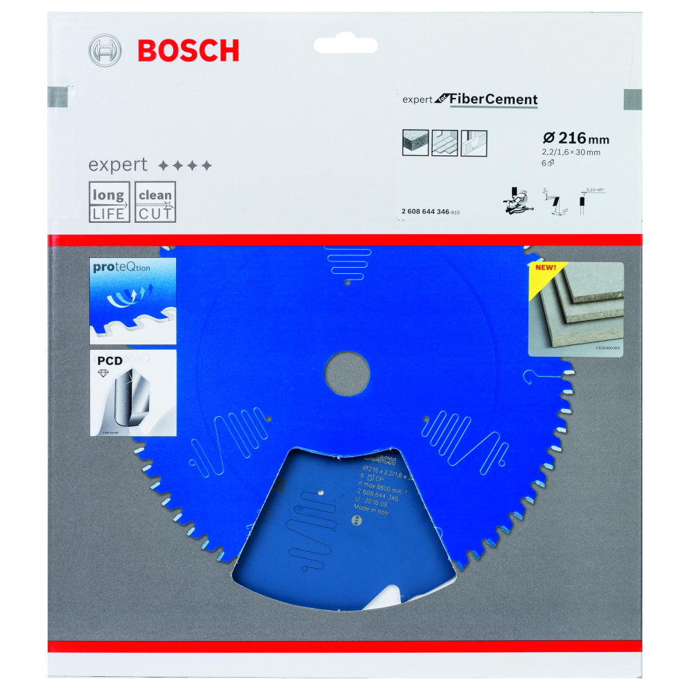 Bosch Expert for Fibre Cement Sågklinga 216x2,2x30mm 6T