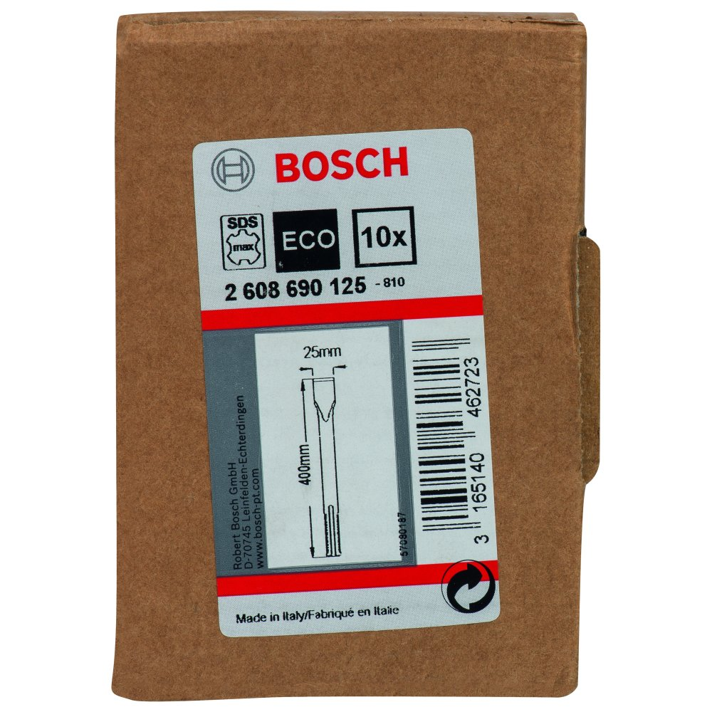 Bosch Flatmejsel SDS-Max 400mm STD 10-pack