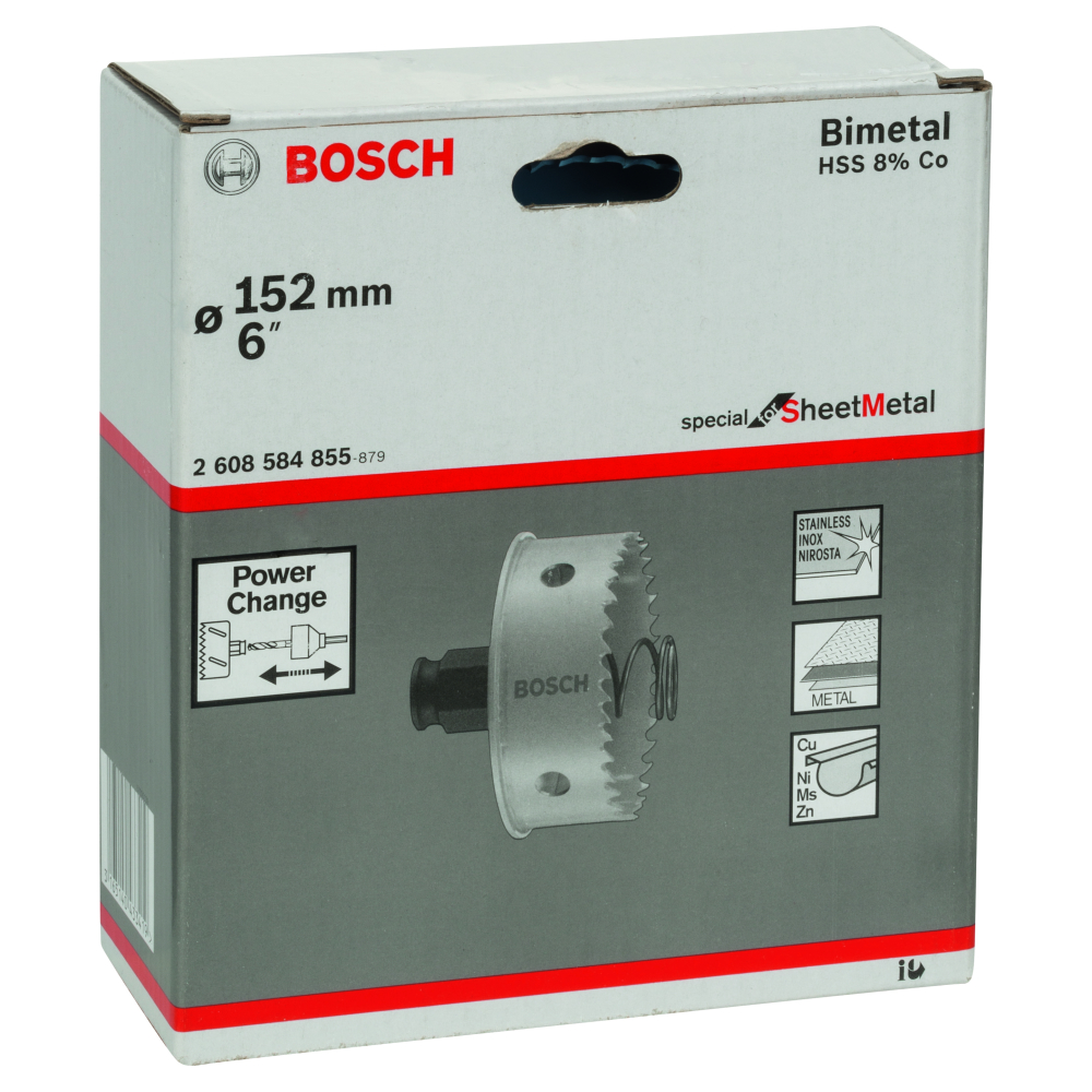 Bosch Special for Sheet Metal Hålsåg HSS Bi-Metall Power Change 152mm