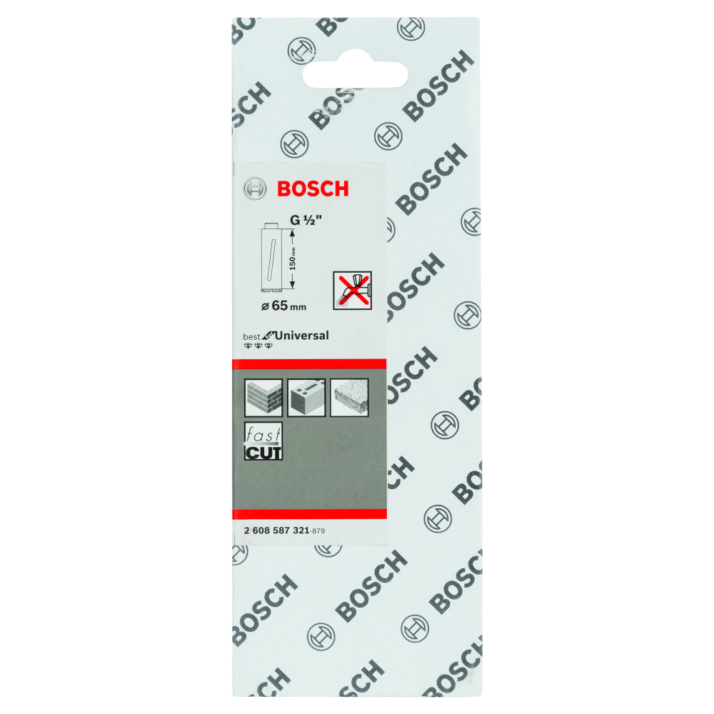 Bosch Diamantborr TORR 65X150mm 1/2 BE-pack
