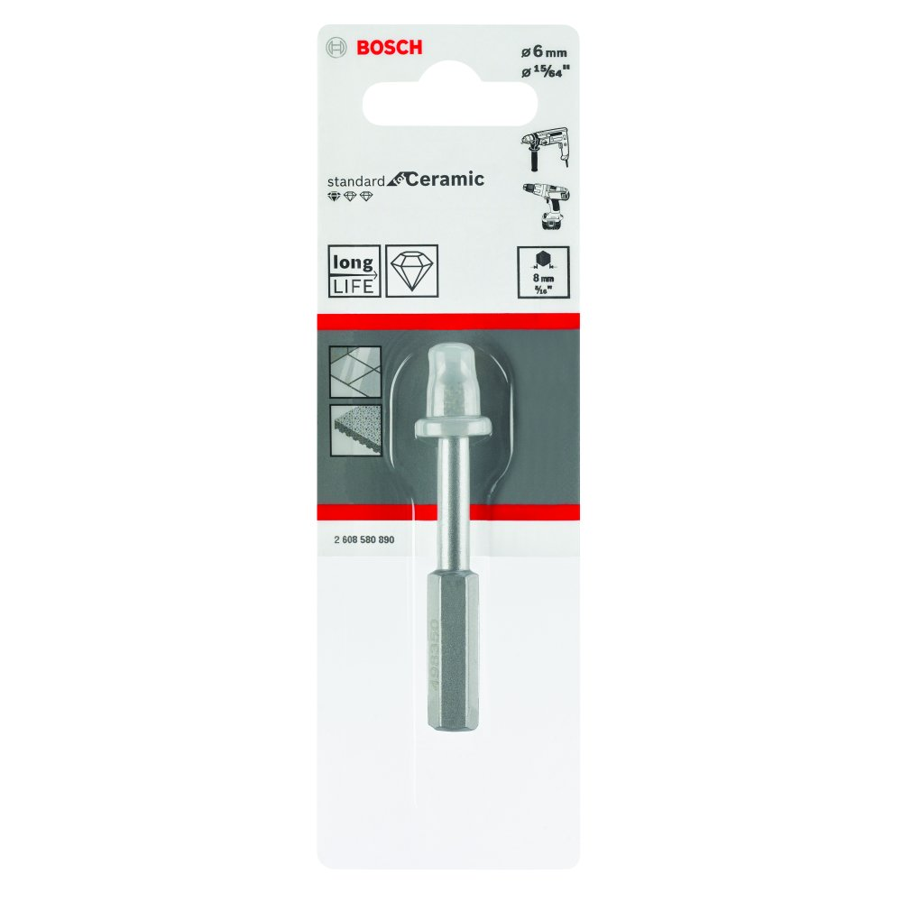 Bosch Diamantborr STAND FOR TILES 6mm