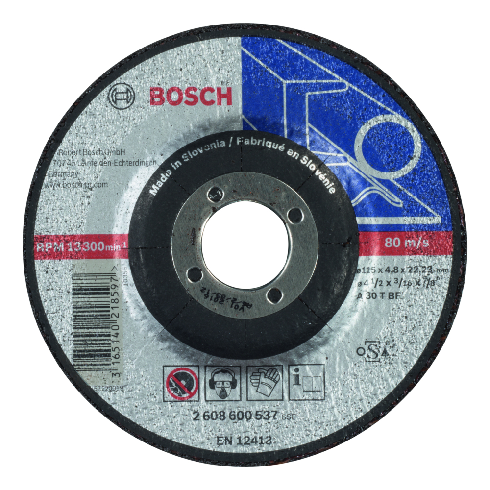Bosch Expert for Metal Slipskiva Försänkt 115x22,23x4,8mm Metall