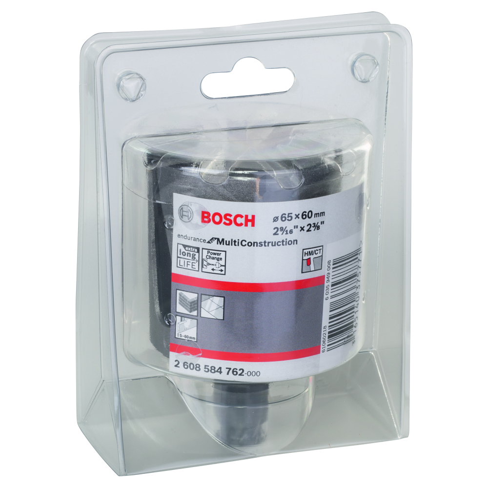 Bosch Endurance for Multi Construction Hålsåg Power Change 65mm