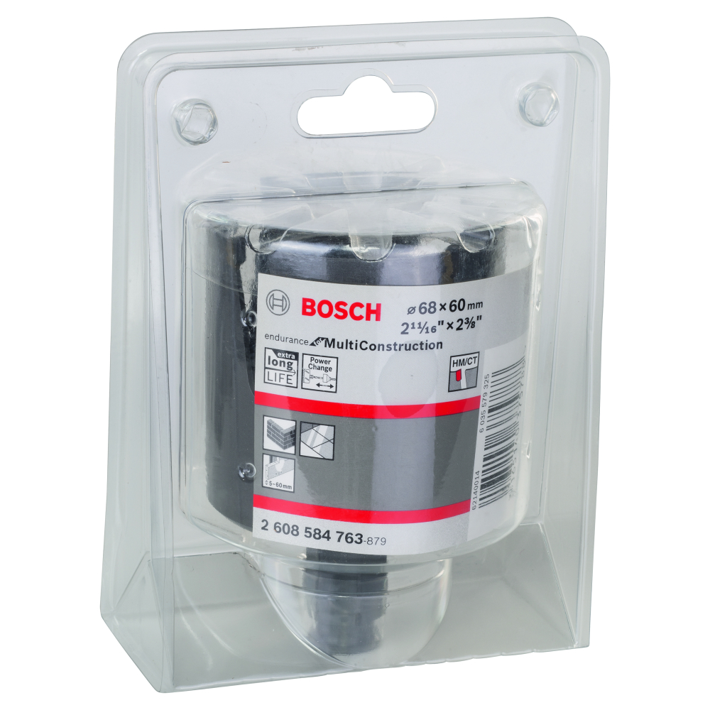 Bosch Endurance for Multi Construction Hålsåg Power Change 68mm