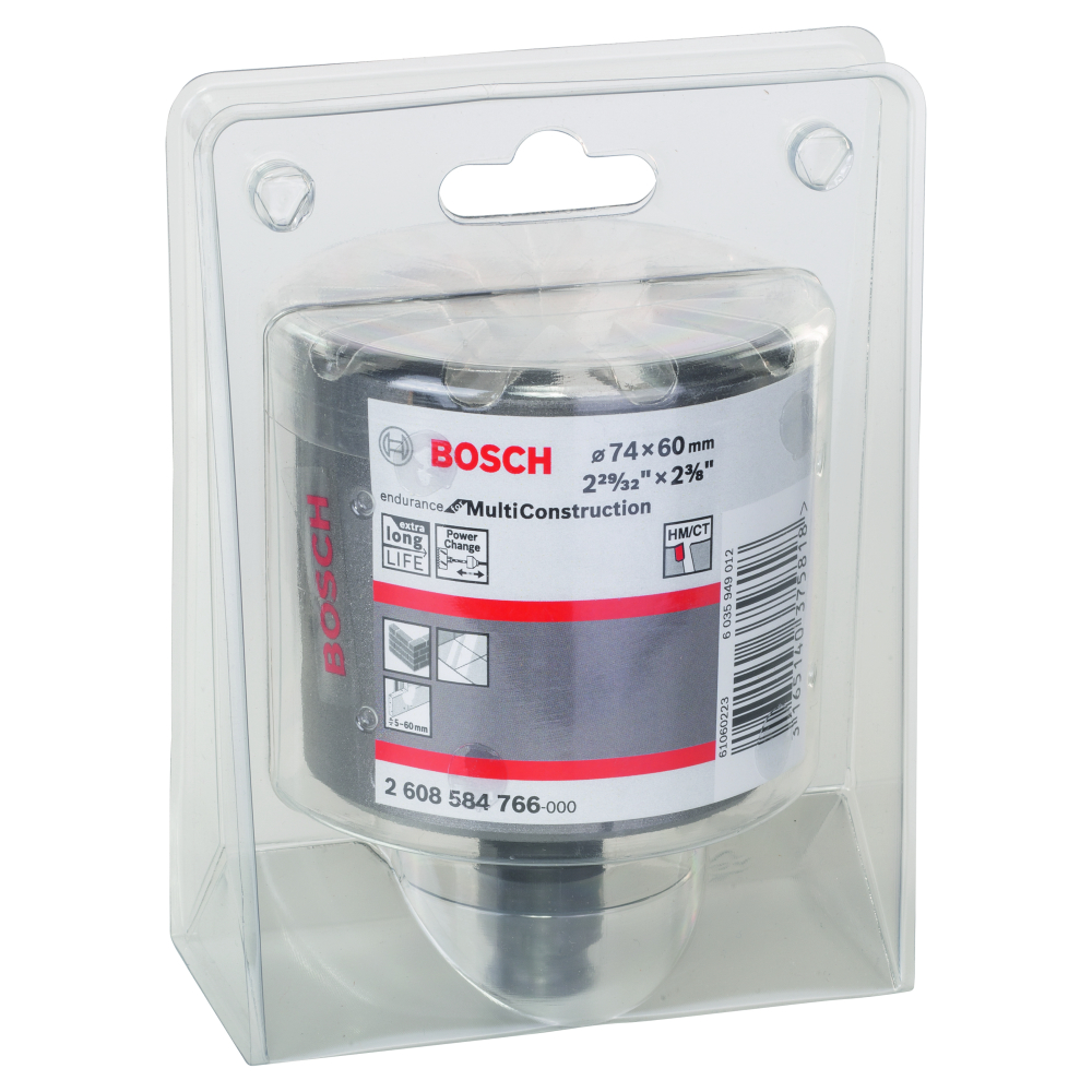 Bosch Endurance for Multi Construction Hålsåg Power Change 74mm