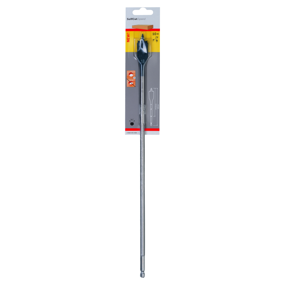 Bosch Self Cut Speed Centrumborr 18x400mm
