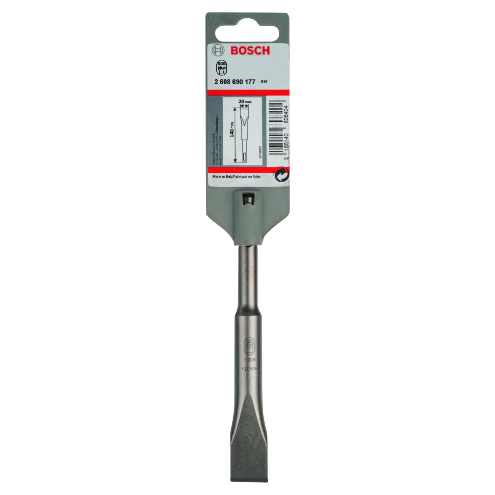 Bosch Flatmejsel SDS-Plus 20x140mm